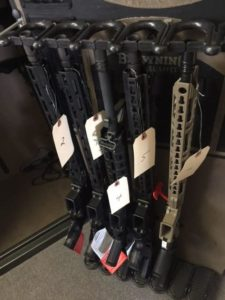 Many rifles in stock and ready to ship